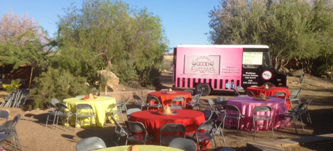 Trucking Good Cupcakes Tucson Catering